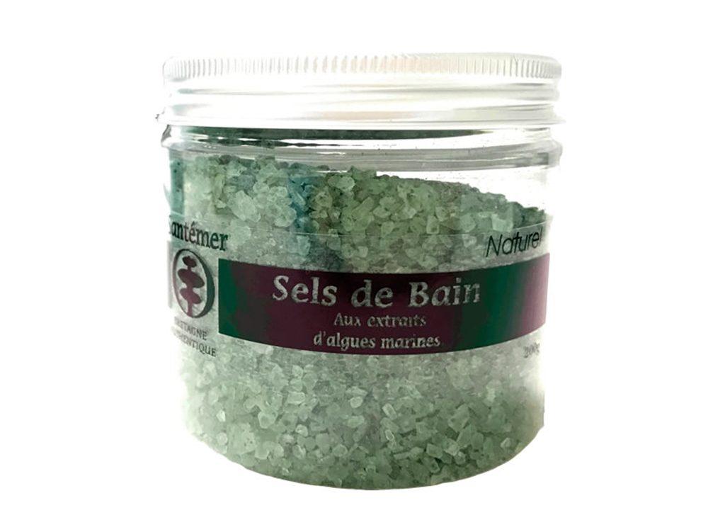 sels bain naturels algues santemer