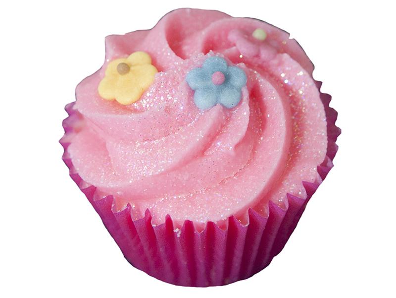 cupcake cassis capucine
