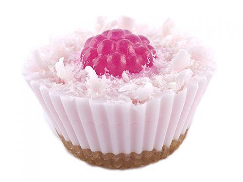 cupcake savon yaourt framboise