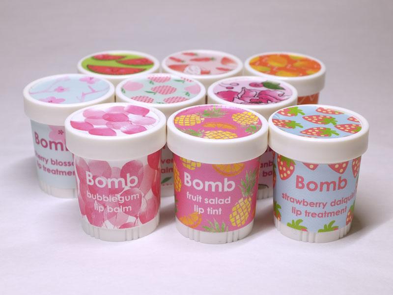 baume à lèvres bomb